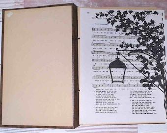 Vintage Prints on Music Paper, Junk Journal Supplies, Ephemera, Collage Papers
