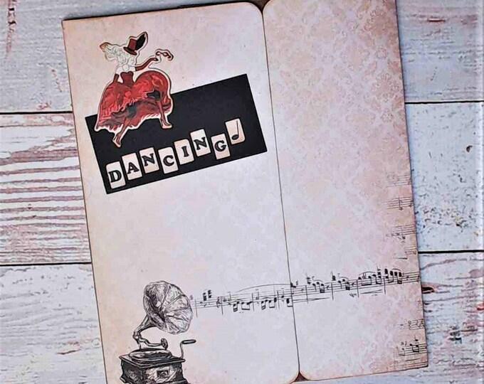 Music & Dance Themed Scrapbook Album - Mini album, For Musician or Dancer