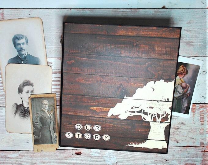 Family Tree - Heritage Scrapbook Album - Mini album