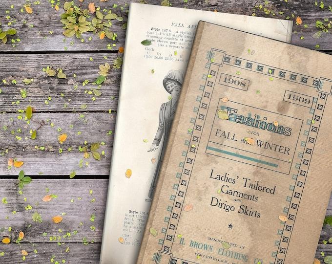 Vintage Fashions | Junk Journal Digital Kit | Junk Journal Printable