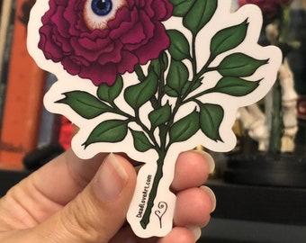 Eyeball Flower Sticker
