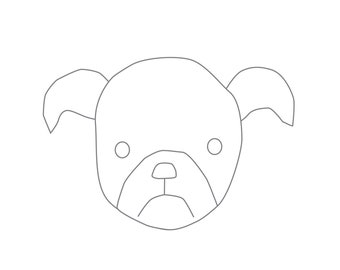 Puppy Coloring Page Etsy
