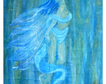 """Original Fine Art called """"Ascending Into Oneness"""" by Charlotte Phillips"""