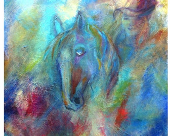"""Original Fine Art 8 by 10 print called """"The Power Within """"by Charlotte Phillips"""
