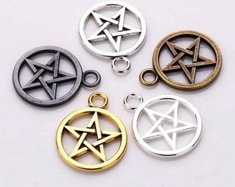 Nature/'s Pentagram button