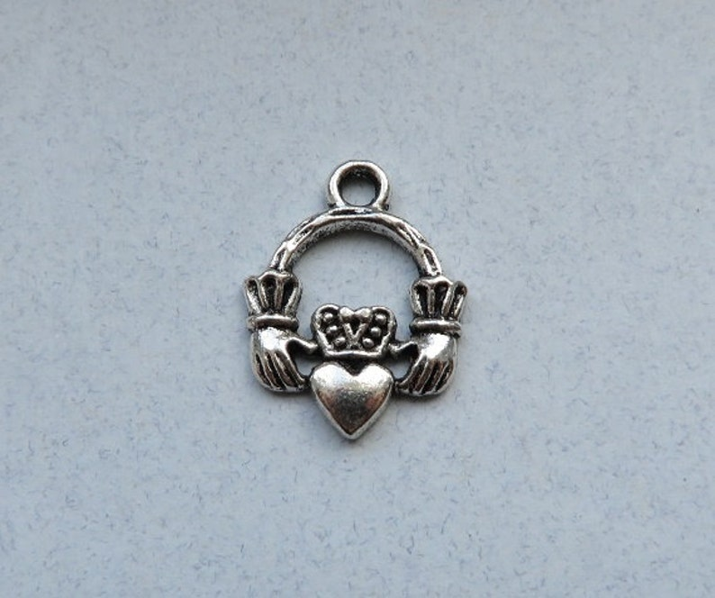 2b9770a15 30 Mini Claddagh Charms Irish Celtic Charms Small Friendship | Etsy