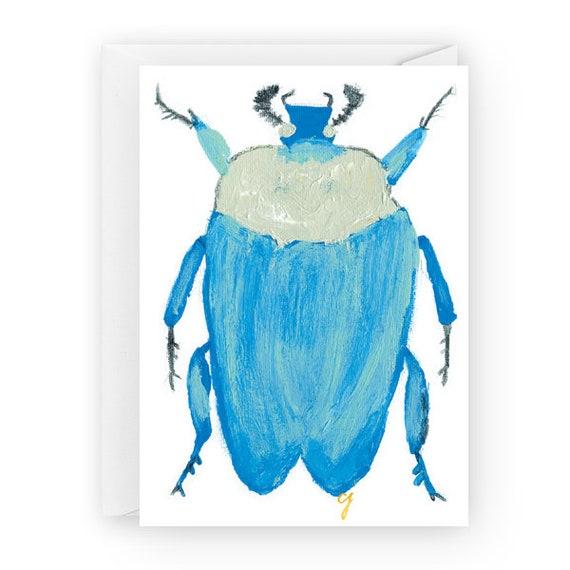Blue Rain 5 x 7 greeting cards