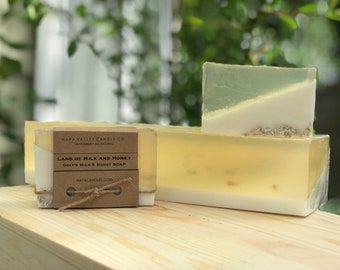 Land of Milk and Honey - Handmade All Natural Goats Milk and Honey Soap