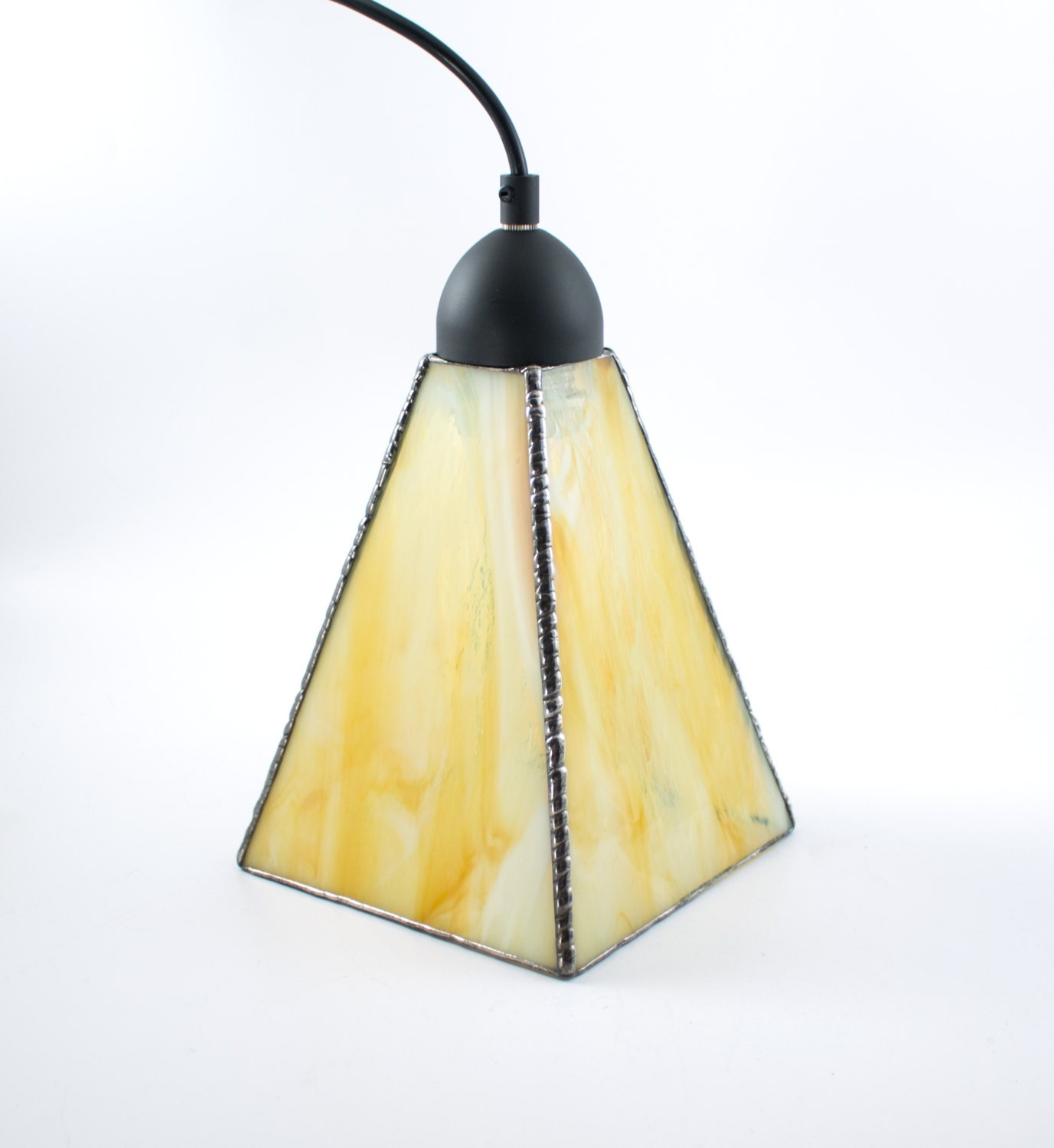 Yellow Glass Pendant Lighting Hanging Lamp Kitchen Island