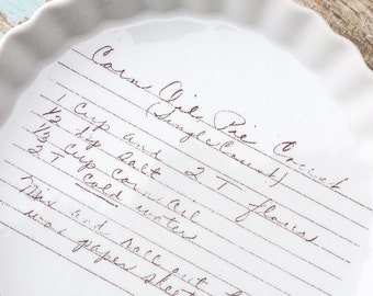 Famous family recipe transferred here - take your grandmas recipe and make it a permanent display in your kitchen.