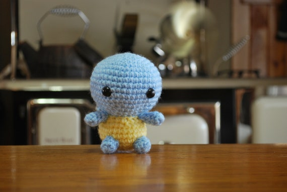PDF PATTERN Crochet Splatoon Squid look a like