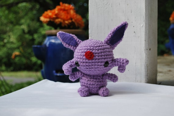 PDF PATTERN Crochet Chibi Vulpix look a like