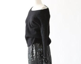 Diane Von Furstenberg cashmere sweater | vintage 90s knit cashmere sweater