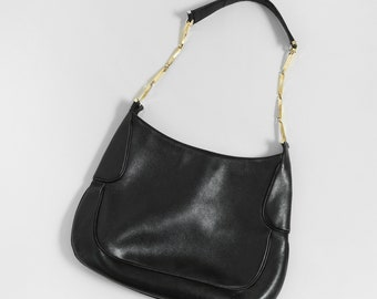 Salvatore Ferragauno purse | Vintage Salvatore Ferragauno black Italian leather purse
