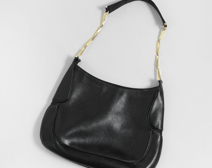 Salvatore Ferragauno purse | Vintage Salvatore Ferragauno black Italian leather purse