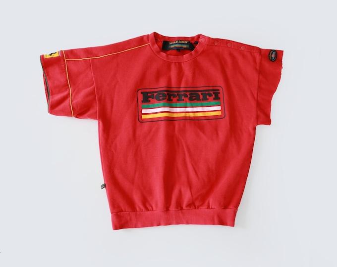 Vintage 80s Ferrari Red Sweatshirt