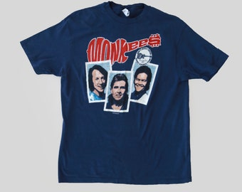 Monkees t-shirt | Vintage 80s 1987 Monkees Tour T-shirt