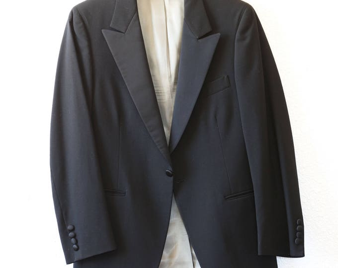 Tuxedo jacket | Vintage 50s KILGOUR FRENCH & STANBURY Tuxedo Jacket