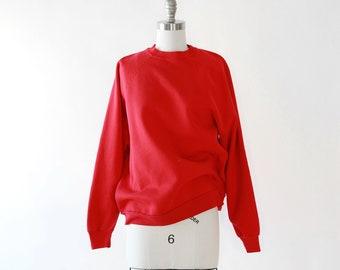 Vintage 80s red Reglan sweatshirt