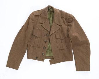Vintage 50s World War II Military Jacket