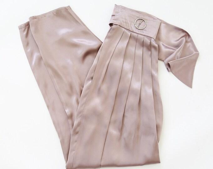 Wayne Clark Aline Marelle pants | Vintage 90s lavender slacks