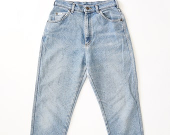 Vtg 80s Lee Riders light wash blue skinny jeans USA Sz.10