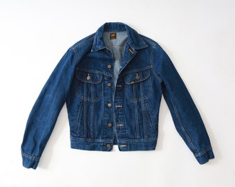 60s Lee jean jacket | Vintage 60s LEE MR. Denim Jacket USA