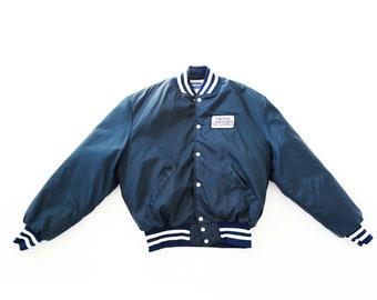 Fishing jacket   Vintage 80s United Anglers of California bomber starter jacket XL