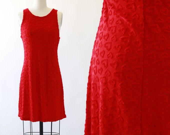 90s Heart mini dress