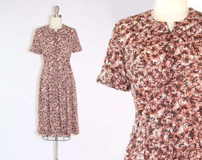 Shelton Stroller dress | Vintage 50s floral day dress