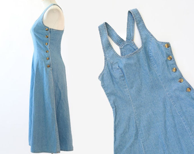 Denim jumper field dress