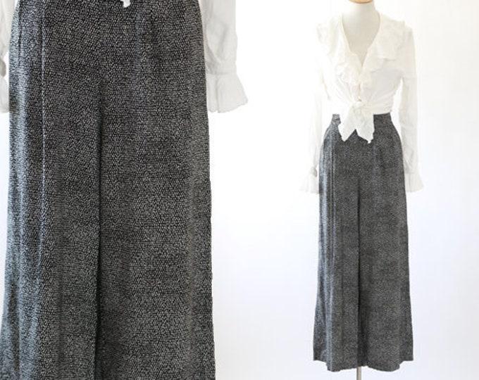 DOT slacks | Vintage 90s Cropped polka dot pants