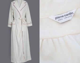 Pierre Cardin Robe | Vintage 70s Pierre Cardin Petite robe house coat