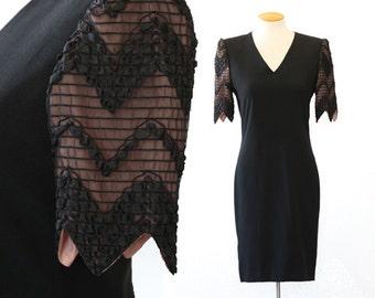 Carolina Herrera dress | Vintage 90s Carolina Herrera Studio Couture Dress