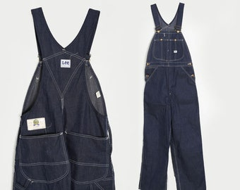 Deadstock Lee overalls | Vintage 60s union made LEE jean overalls | workwear overalls W34 L31