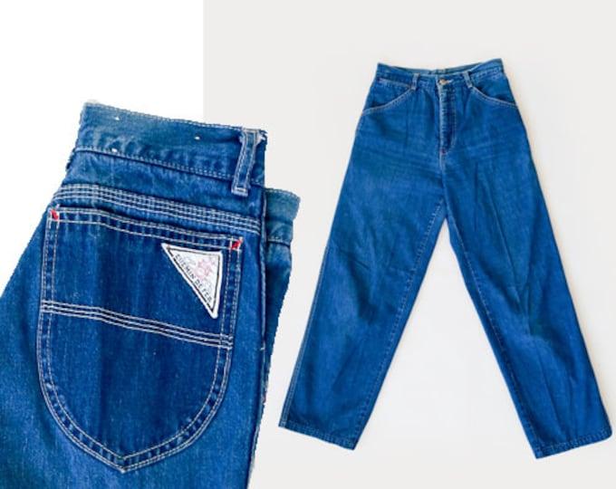 Chemin De Fer jeans   Vintage 70s Chemin De Fer jeans W26 L30