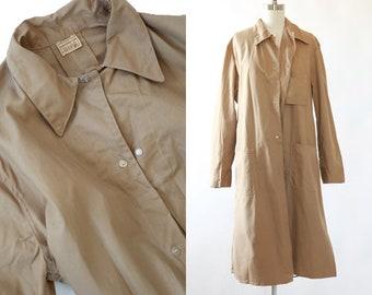 Sanforized Canvas Chore coat   Vintage 50s canvas lab coat