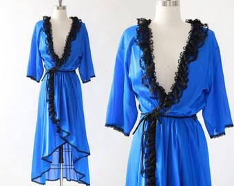 FREDERICKS OF HOLLYWOOD robe | vintage 80s 90s lingerie