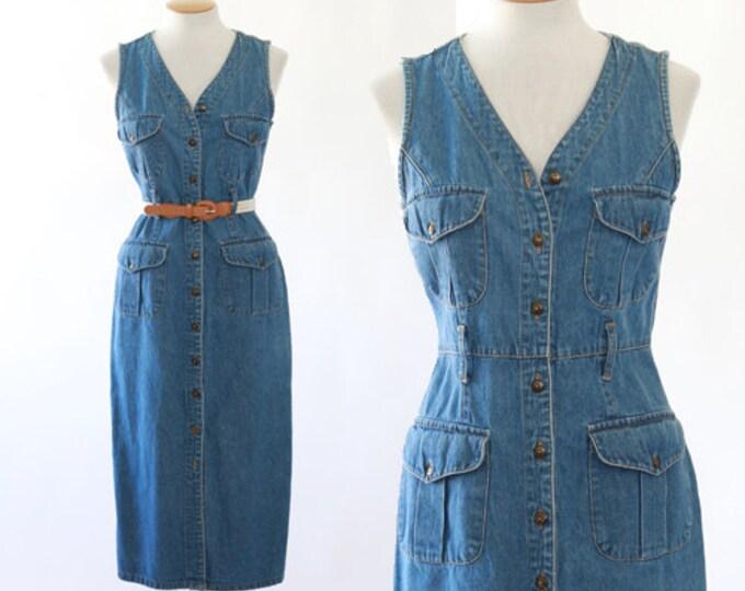 Denim field dress