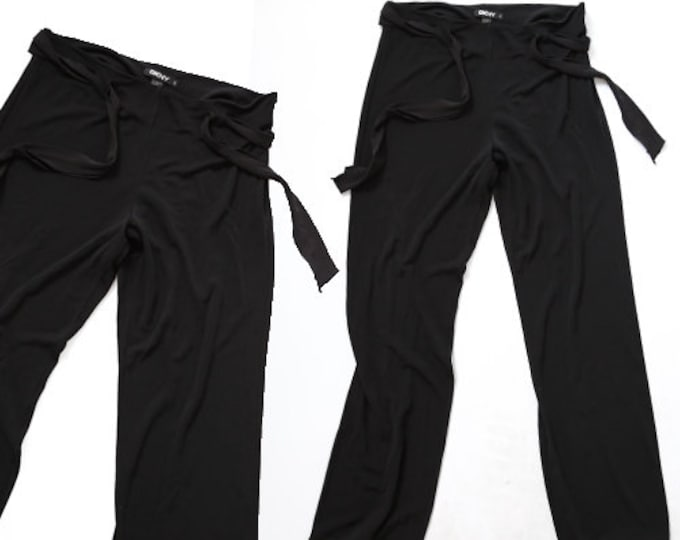 DKNY stretch slacks | Vintage 90s minimalist pants