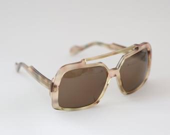 Vintage 70's NEOSTYLE Elvis sunglasses Germany oversized glasses