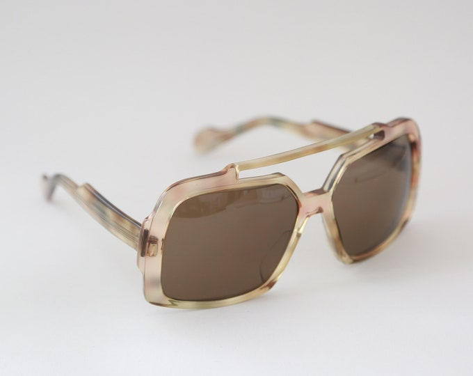 Vintage 70's NEOSTYLE Elvis sunglasses Germany oversized glasses