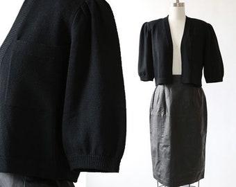 Vintage St. John Knit cardigan bolero sweater