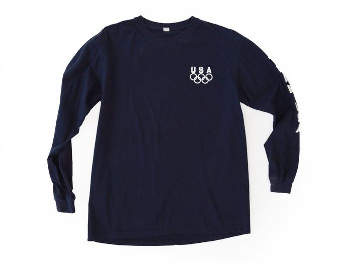 Vintage USA OLYMPICS team long sleeve T SHIRT