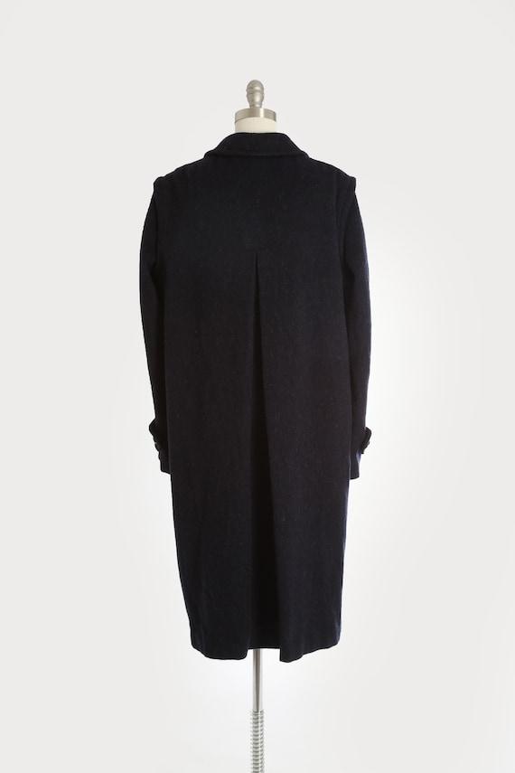 Mohair coat | Vintage 60s blue mohair wool coat |… - image 7