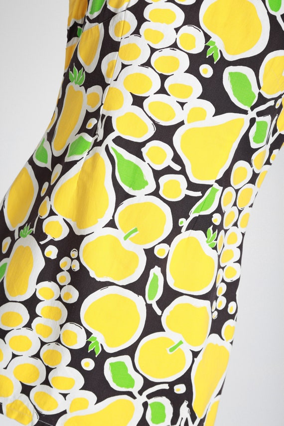 Fruit mini dress | Vintage 60s MOD fruit dress | … - image 4