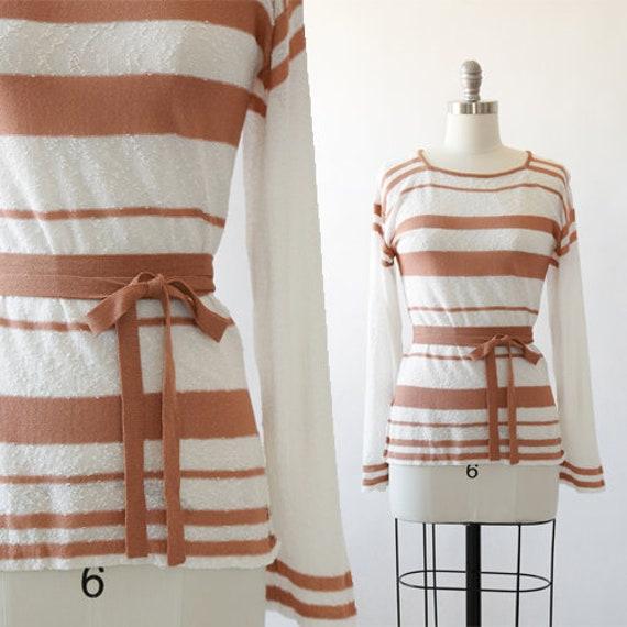 Solé Crochet sweater | Vintage 70s Saks Fifth Aven