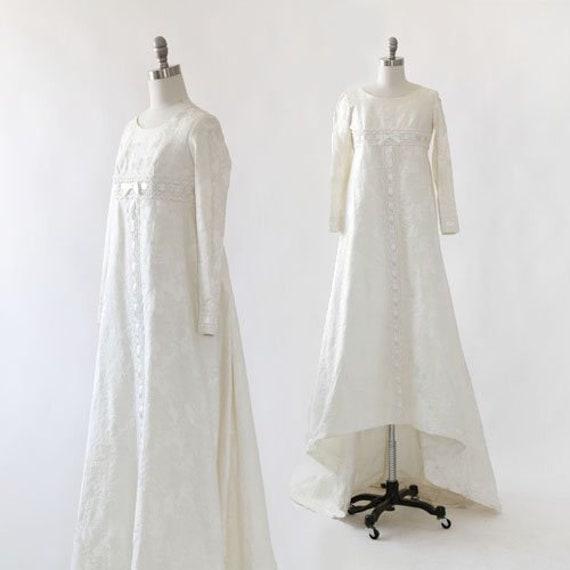 Bridallure wedding gown | Vintage 1960s wedding dr