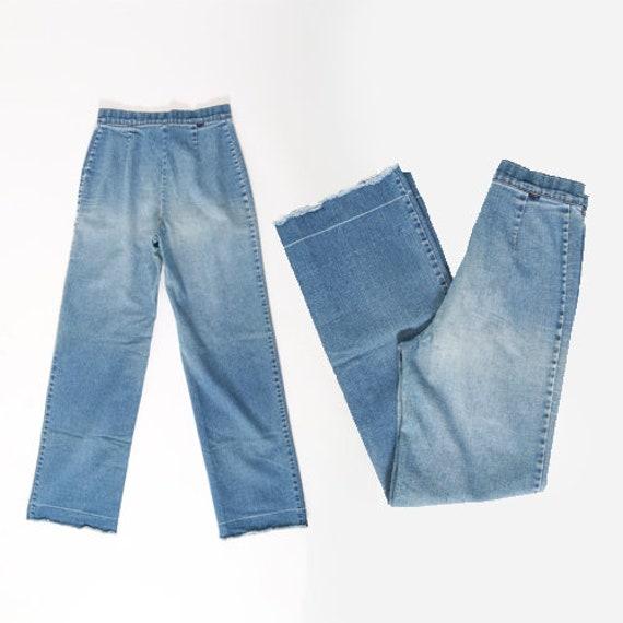 70s wide leg Levis  | Vintage 70s LEVIS wide leg … - image 1