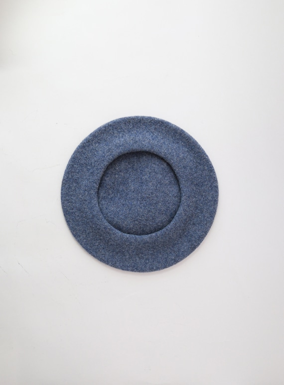 Blue Beret hat | Vintage 70s Basque DeLuxe wool b… - image 6